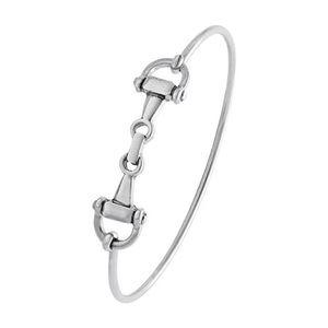 Horse Snaffle Bit Clasp Bracelet